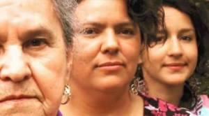 Berta Cáceres 83 - Berta Flores, Berta Cáceres y Olivia Zúniga.