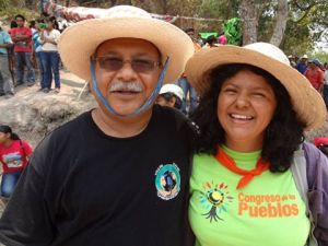 Padre Melo and Berta were both children raised in poor peasant families and shared the same hopes and struggles for the poor.