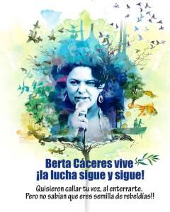 Berta Cáceres86 -poster