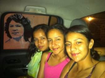 the daughters of Berta Cáceres