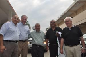Jesuits con Tim Kaine